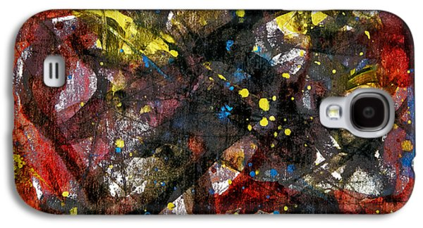 Abstract Movement Galaxy S4 Cases - Elemental 5 Galaxy S4 Case by Dan Sisken