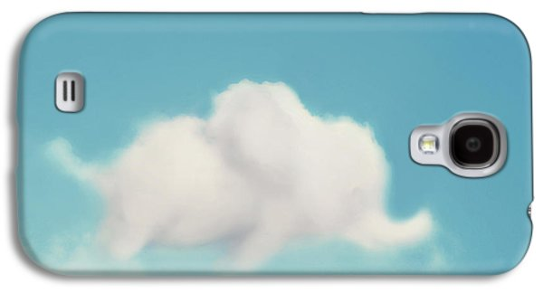 Clouds Galaxy S4 Cases - Elephant in the Sky Galaxy S4 Case by Amy Tyler
