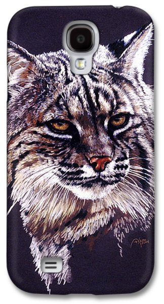 Bobcats Drawings Galaxy S4 Cases - Elfin Galaxy S4 Case by Barbara Keith