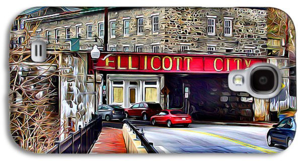 Extinct And Mythical Digital Galaxy S4 Cases - Ellicott City Galaxy S4 Case by Stephen Younts