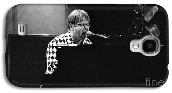 Elton John Photographs Galaxy S4 Cases - Elton John-0147 Galaxy S4 Case by Gary Gingrich Galleries