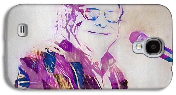 Elton John Galaxy S4 Case by Dan Sproul