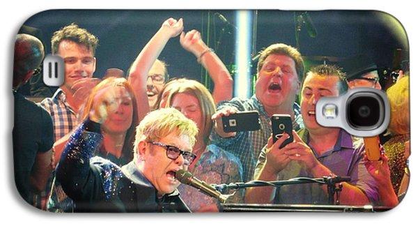 Elton John Photographs Galaxy S4 Cases - ELTON JOHN Million Dollar Piano Galaxy S4 Case by Allen Meyer