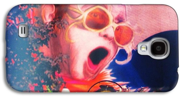 Elton John Photographs Galaxy S4 Cases - ELTON JOHN then and now Galaxy S4 Case by Allen Meyer