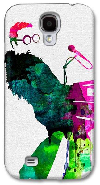 Elton Watercolor Galaxy S4 Case by Naxart Studio