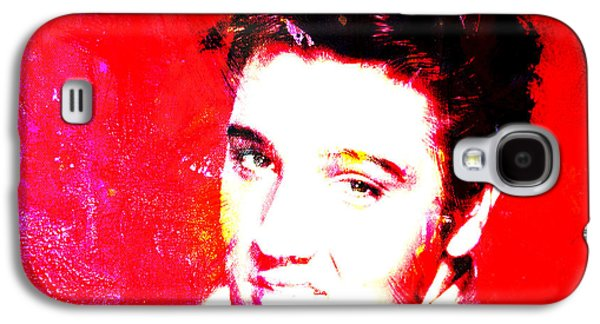 Nashville Tennessee Paintings Galaxy S4 Cases - Elvis 2c Galaxy S4 Case by Brian Reaves