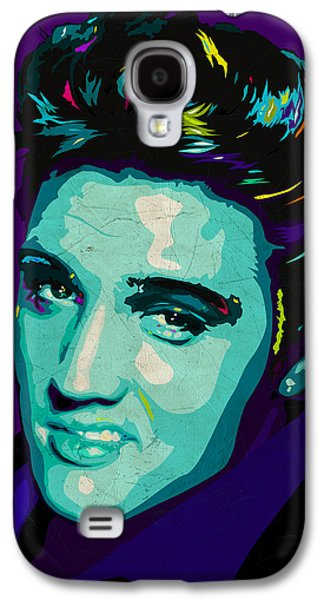Dogs Digital Galaxy S4 Cases - Elvis Galaxy S4 Case by Ciaran Monaghan