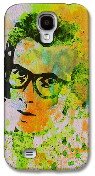 British Paintings Galaxy S4 Cases - Elvis Costello Galaxy S4 Case by Naxart Studio