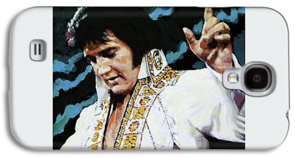 Elvis - How Great Thou Art Galaxy S4 Case by John Lautermilch