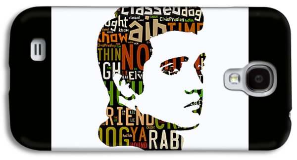 Elvis Presley Hound Dog Galaxy S4 Case by Marvin Blaine