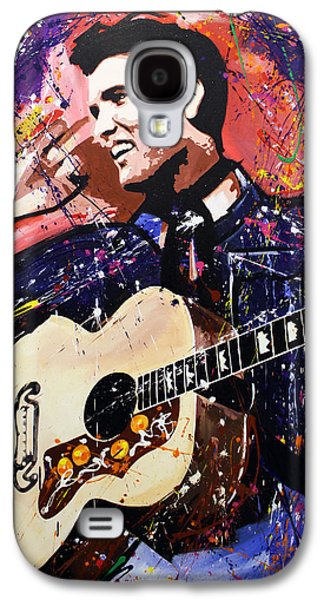 Elvis Presley Galaxy S4 Case by Richard Day