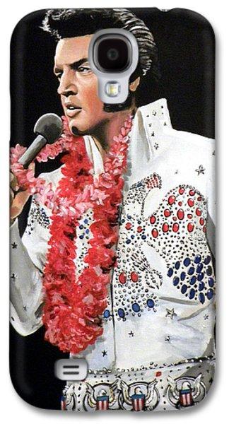 Elvis Galaxy S4 Case by Tom Carlton