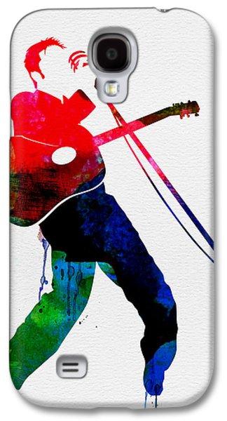 Elvis Watercolor Galaxy S4 Case by Naxart Studio
