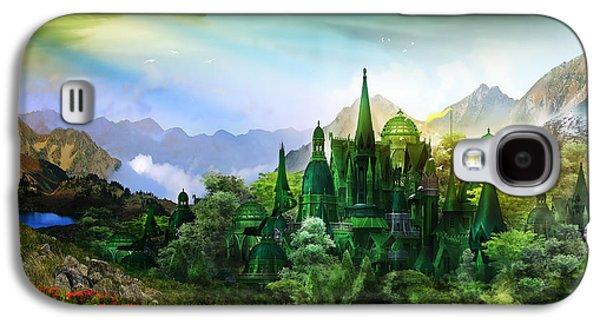 Emerald City Galaxy S4 Case by Mary Hood