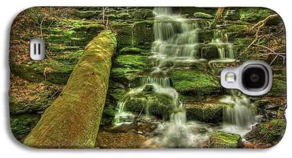 Beautiful Creek Galaxy S4 Cases - Emerald Dreams Galaxy S4 Case by Evelina Kremsdorf