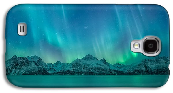 Norway Galaxy S4 Cases - Emerald Sky Galaxy S4 Case by Tor-Ivar Naess