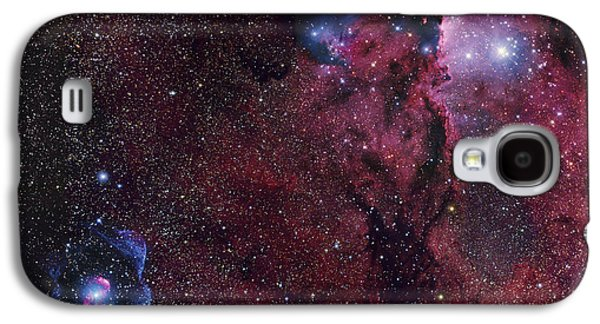 Bipolar Galaxy S4 Cases - Emission Nebula Ngc 6188 Star Formation Galaxy S4 Case by Robert Gendler