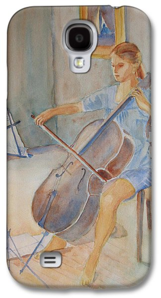 Girl Galaxy S4 Cases - Emma and Clifford Galaxy S4 Case by Jenny Armitage