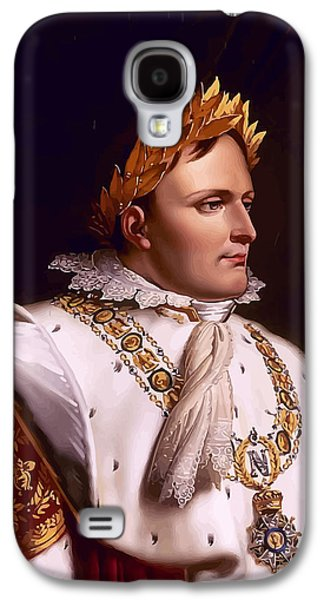 Emperor Galaxy S4 Cases - Emperor Napoleon Bonaparte  Galaxy S4 Case by War Is Hell Store