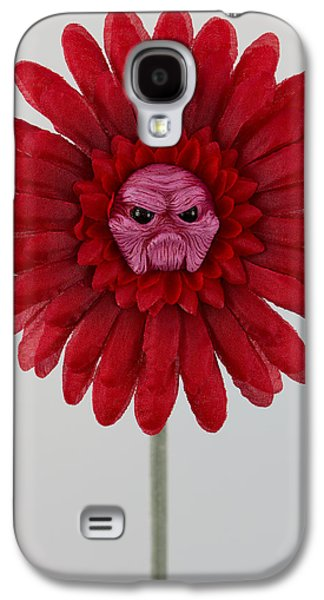 Floral Sculptures Galaxy S4 Cases - Enchanted Flower Galaxy S4 Case by Michael Palmer