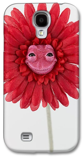 Floral Sculptures Galaxy S4 Cases - Enchanted Flower sweet Galaxy S4 Case by Michael Palmer