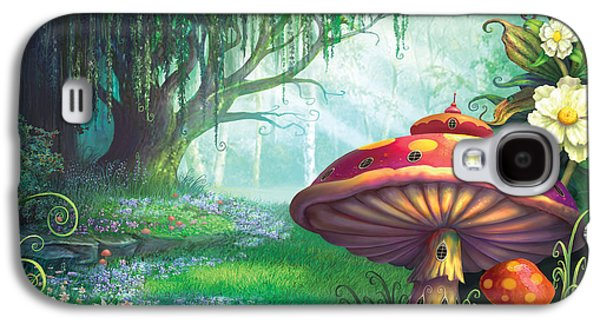 Enchanted Forest Galaxy S4 Case by Philip Straub