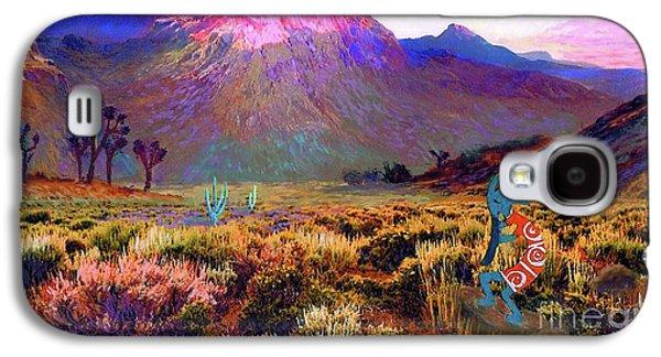 Enchanted Kokopelli Dawn Galaxy S4 Case by Jane Small