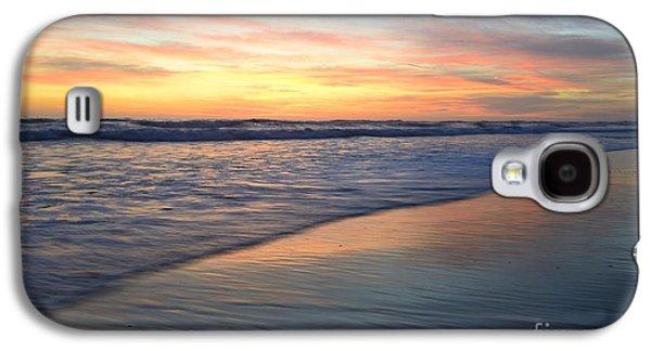 Landscape Acrylic Prints Galaxy S4 Cases - Encinitas Blue 48x72 Print Galaxy S4 Case by John Tsumas