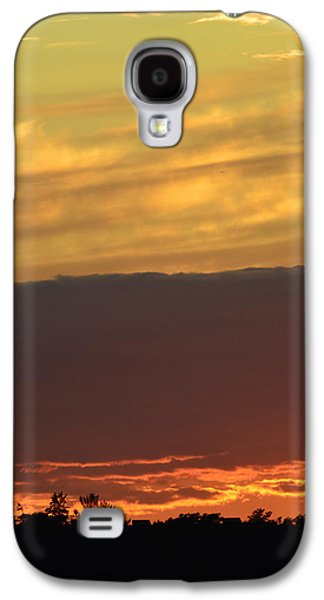 Nature Abstracts Galaxy S4 Cases - End Of A Summer Day  Galaxy S4 Case by Lyle Crump