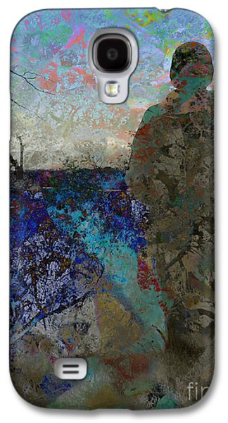 Abstracts Galaxy S4 Cases - End of the Road Galaxy S4 Case by Robert Ball