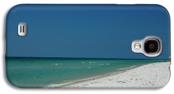 Panama City Beach Galaxy S4 Cases - Endless Horizon Galaxy S4 Case by Susanne Van Hulst