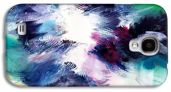 Surreal Landscape Drawings Galaxy S4 Cases - Energy Galaxy S4 Case by Anil Nene