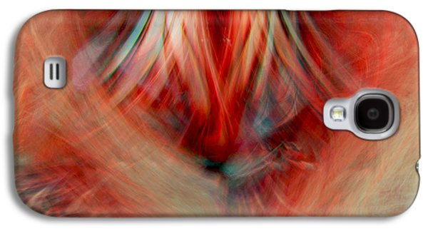 Abstract Digital Art Galaxy S4 Cases - Energy Of love Galaxy S4 Case by Linda Sannuti