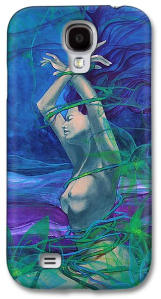 Live Art Galaxy S4 Cases - Entangled in your love... Galaxy S4 Case by Dorina  Costras