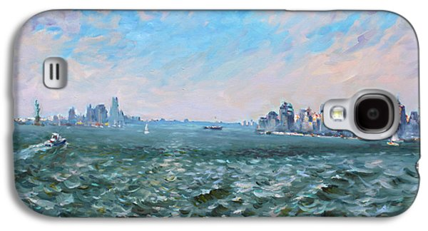 Entering In New York Harbor Galaxy S4 Case by Ylli Haruni