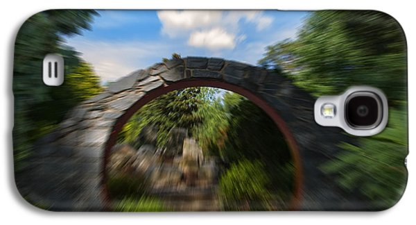 Abstracts Galaxy S4 Cases - Entering The Garden Gates Abstract Galaxy S4 Case by Chris Flees