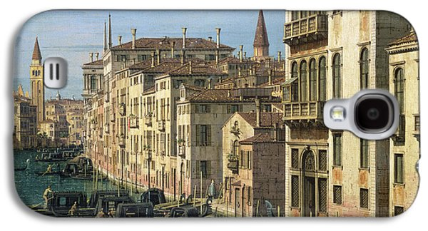 Entrance To The Grand Canal Looking West Galaxy S4 Case by Canaletto