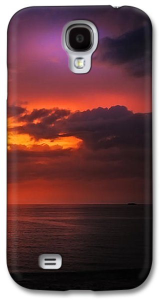 Sun Galaxy S4 Cases - Epic End of the Day at Equator Galaxy S4 Case by Jenny Rainbow
