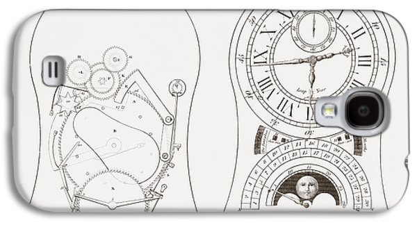 Equation Clock By Enderlin. From The Galaxy S4 Case by Vintage Design Pics