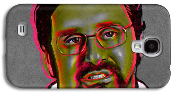 Face Digital Galaxy S4 Cases - Eric Wareheim Galaxy S4 Case by Fay Helfer