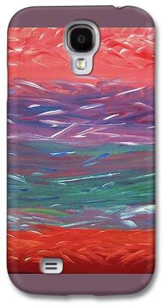 Nature Abstract Pastels Galaxy S4 Cases - Essence of The Mind Galaxy S4 Case by Ilsy Bu Orellana