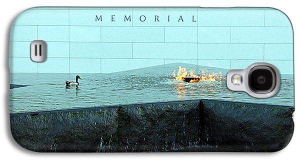 Barack Obama Galaxy S4 Cases - Eternal Flame At Disabled American Veterans Memorial Galaxy S4 Case by Cora Wandel