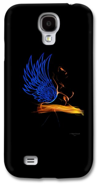 African-american Galaxy S4 Cases - Ethnic Solar Wings Galaxy S4 Case by Majula Warmoth