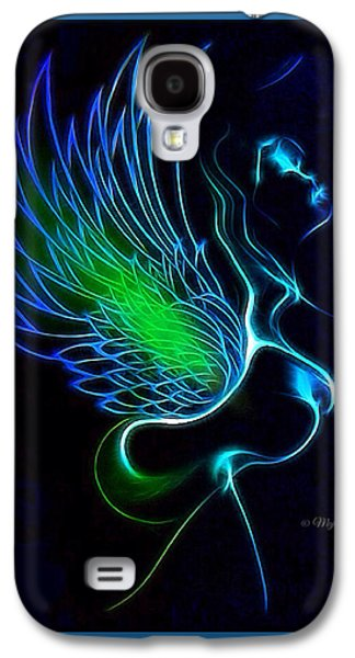 African-american Galaxy S4 Cases - Ethnic Wing 2 Galaxy S4 Case by Majula Warmoth