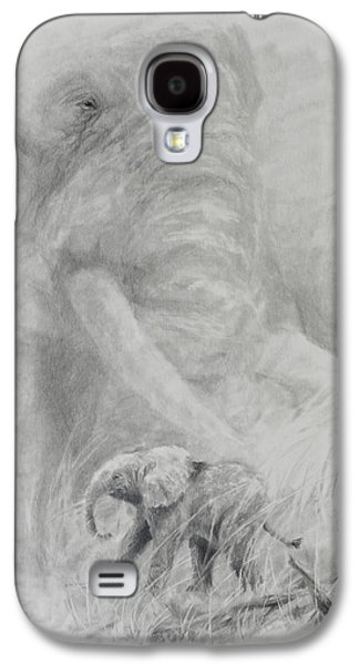Drawing Galaxy S4 Cases - Eulogy Galaxy S4 Case by Jim Young