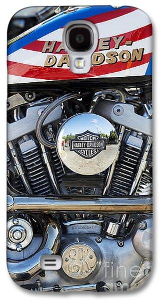 Landmarks Photographs Galaxy S4 Cases - Evel Harley Davidson Galaxy S4 Case by Tim Gainey