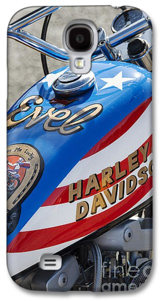 Landmarks Photographs Galaxy S4 Cases - Evel Harley  Galaxy S4 Case by Tim Gainey