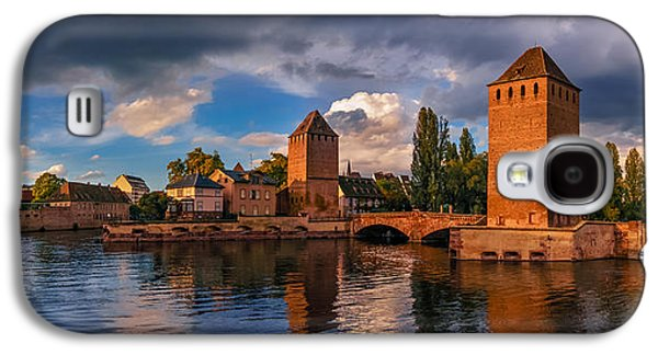 Ancient Galaxy S4 Cases - Evening after the rain on the Ponts Couverts Galaxy S4 Case by Dmytro Korol