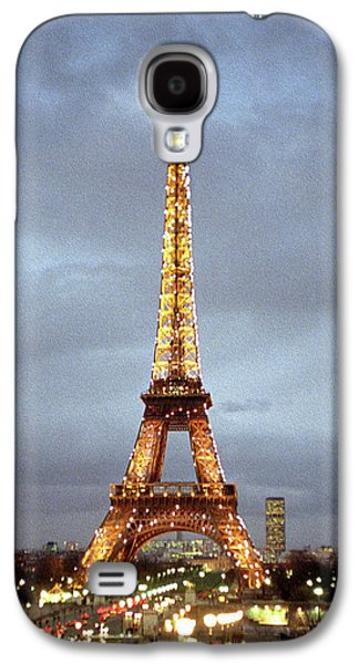 Evening At The Eiffel Tower Galaxy S4 Case by Mike McGlothlen