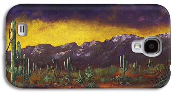 Galaxy S4 Cases - Evening Desert Galaxy S4 Case by Anastasiya Malakhova